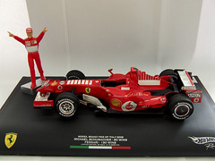 Hot Wheels Michael Schumacher Monza Retirement...