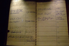 Jimi Hendrix's address book