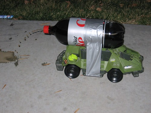 Mentos Powered Car (6)