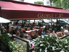 George V Cafe, Champs Elysees