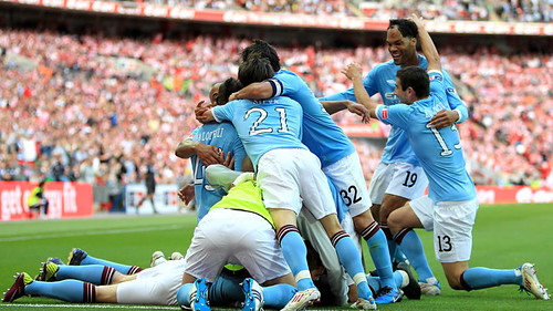 FA Cup Final 2011 Manchester City vs Stoke City 1-0