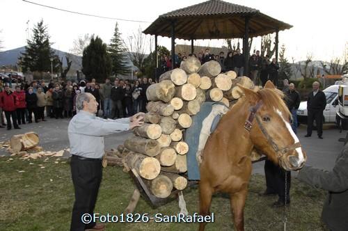 Demostración de la Fiesta de los Gabarreros. Foto Pedro Merino