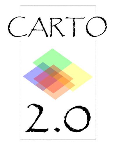 La démarche de recherche du logo du Colloque Carto 2.0 (version 2.0)