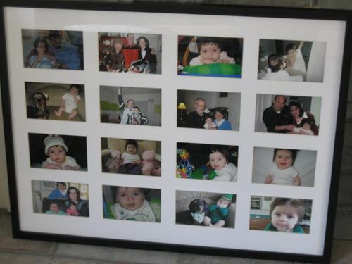 Filling a frame