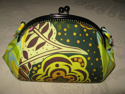 Teardrop purse - back by you.