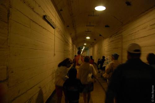 Туннель внутри базы