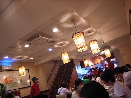 老董牛肉細粉麵店:室內
