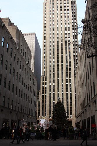 Rockefeller Center, With Tree