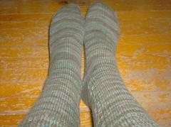 Tea on the Sea Socks (completed)