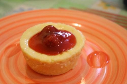 Cherry New York Style Cheesecake at Lachi's
