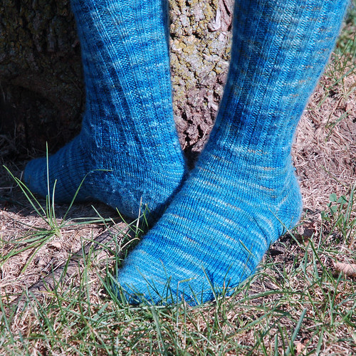 Kelp Knee High Socks