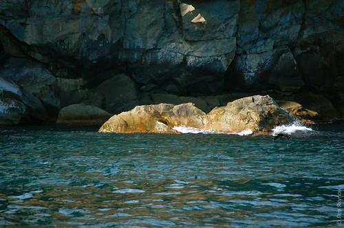 Скалы у берегов Аю-Дага