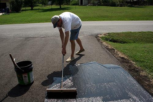 Sealing the Driveway