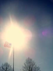 Flag and Sunshine 5
