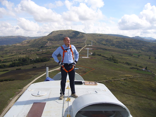 In cima a Sella di Conza 70mt sopra il cielo