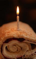 Cake, short a few candles