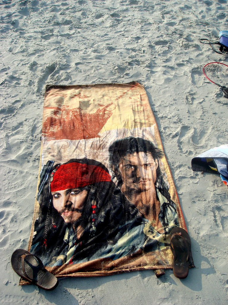 The new beach towel