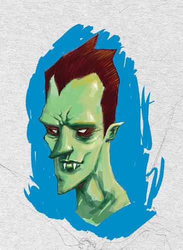 vampire-head