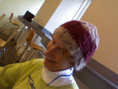 Ben's hat-  Emily modelling