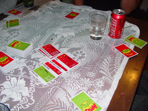 If youve never played Apples to Apples before, you should try it out. Its ridiculous but fun.