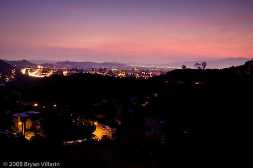 From the hills above Glendale (333/366)