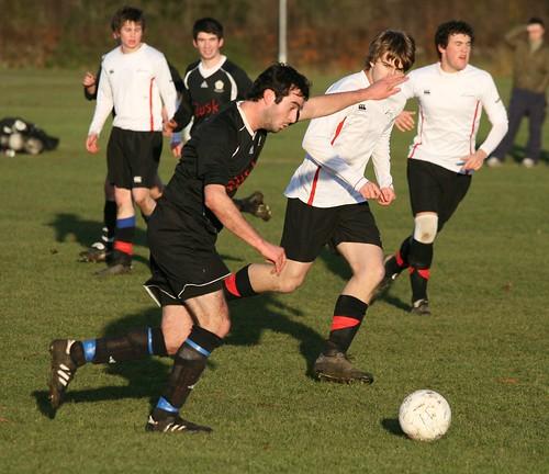 Mens 1st Football v Northumbria, 10/12/2008, Photo: Justyn Hardcastle