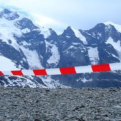 Wanderweg zum Gipfel gesperrt