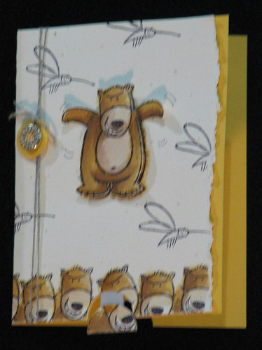 flying bear card by you.