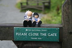 Jimmy and Grandad got to Tarn Howes