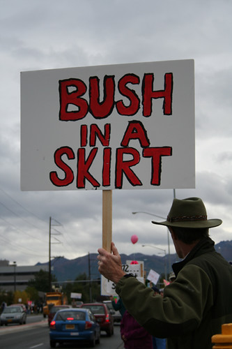 Bush in a Skirt
