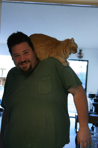 Ed says Perfectly comfortable, why cant this human stop moving though?!
