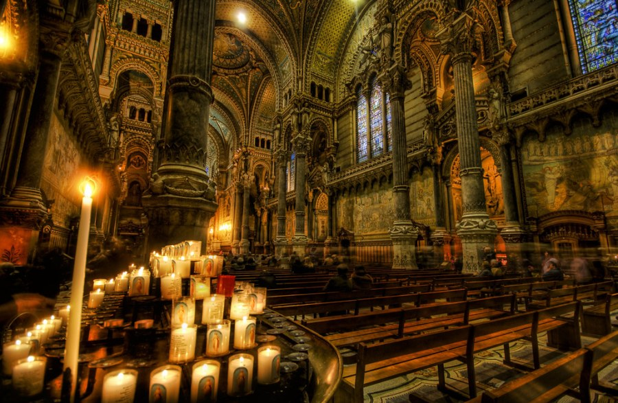 A Votive in the Dark Cathedral
