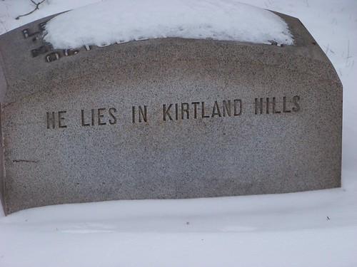 He Lies in Kirtland Hills