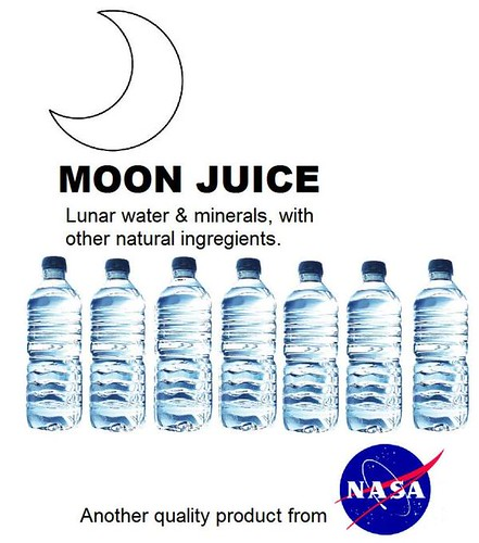 It's Refreshing. It's ... Moon Water.