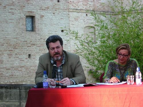 Juan Lopez de Uralde director ejecutivo de Greenpeace España.