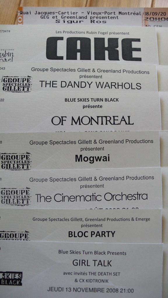 Concert Tickets <: