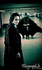 Cosplay Batman & Joker - The Dark Knight