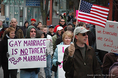 Gay marriage is not a threat