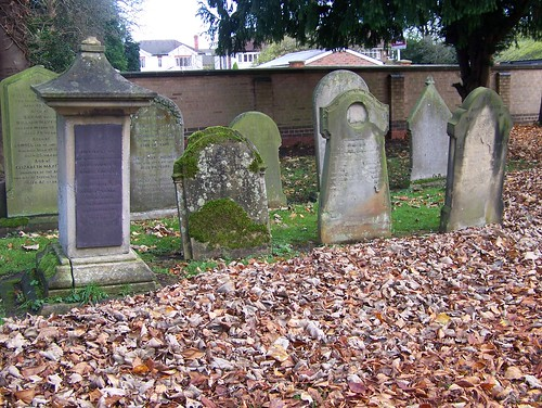 ON A LOVELY NOVEMBER DAY IN NEWARK CEMETERY UK by friendsofnewarkcemetery.