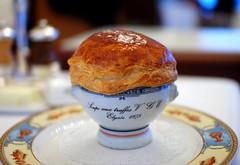 """2nd Course: Soupe aux Truffes Noirs """"V.G.E."""""""