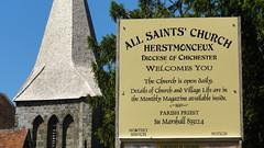 All Saint's Church Herstmonceux.