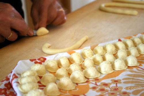 Making Orecchiette