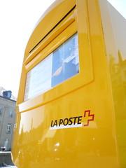 Boîte aux lettres La Poste Suisse
