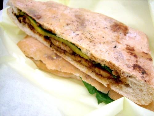 Tempeh Jerk Sandwich
