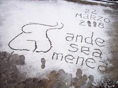 Tora Tora Tora - Nieve, aburrimiento y menéame (Flickr)