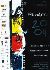 Afiche I FENACO Cusco 2004