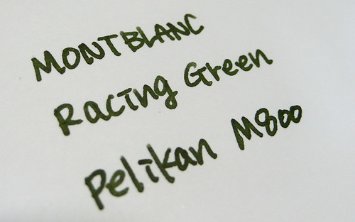 MONT BLANC racing green