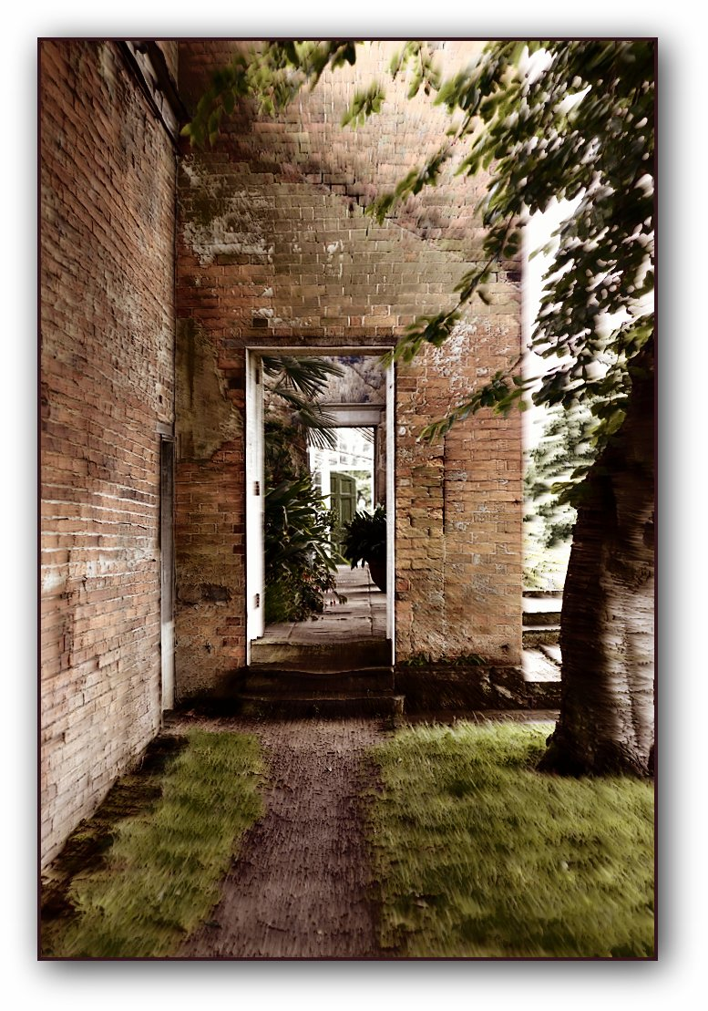 Calke Abbey doorway