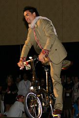 Boy on Bike: Urban Legends Fashion Show Interbike 2008 Las Vegas