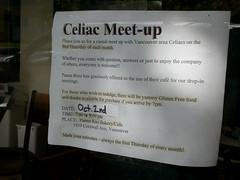 Vancouver Celiac Meet-Ups held here